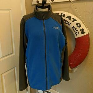 LIKE NEW North Face Full Zip Fleece Jacket